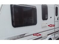 Swift Caravan Upper And Lower Vent/Grill Winter Covers Also Ideal For Motorhomes.