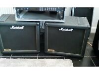 Marshall 1912 1x12 150w speaker cabs