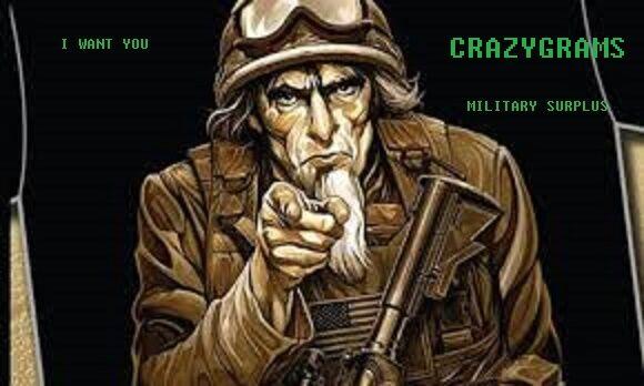 Crazygrams Military Surplus & Etc.