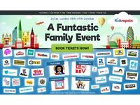 2x tickets KIDTROPOLIS ExCel, London - Weds 26th morning session