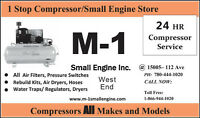 Air Compressor Service Small Engine Repair Snow blower @ M-1