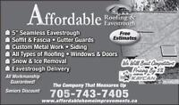 SHINGLER AND SIDING POSITIONS AVAILABLE