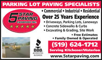 Commercial Industrial Residential Asphalt Paving Services