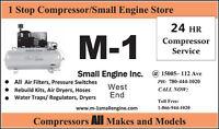 Small Engine Repair tech. Air Compressors Snow blower Gen set...