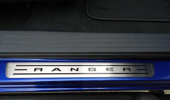 2015 onward Sill Protector Kick Plates Ranger Double Cab