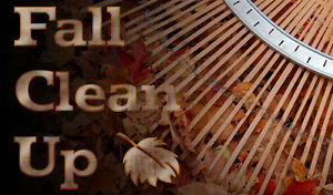 Fall cleanups and eaves-trough Natures Own 519-495-5296 London Ontario image 1