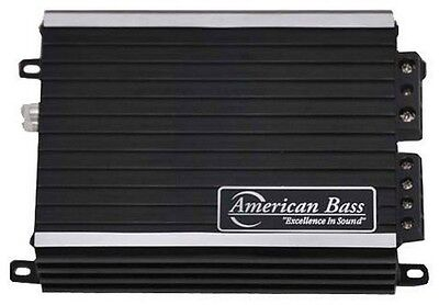 American Bass PH1600MD 1600W Max Class D Amplifier Phantom Micro-Technology