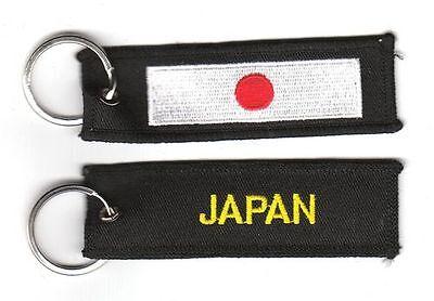 Schlüsselanhänger Japan Anhänger Fahne Flagge NEU