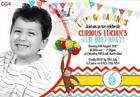 Curious George Greeting Invitations