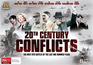 20th Century Conflicts (DVD, 2015, 8-Disc Set) brand new