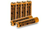 6 AAA Rechargeable Batteries