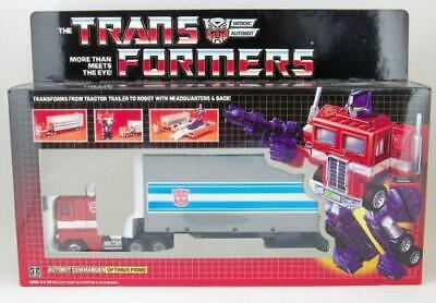 Transformer G1 Optimus prime Red reissue brand new Gift