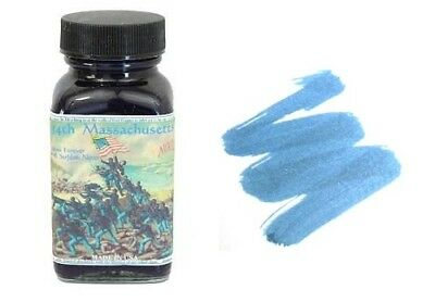 NOODLERS Fountain Pen Ink Bottle – 3oz – 54th MASSACHUSETTS Collectibles