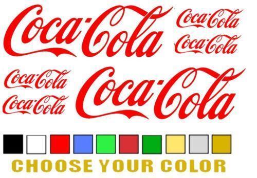 Coca Cola Stickers Ebay