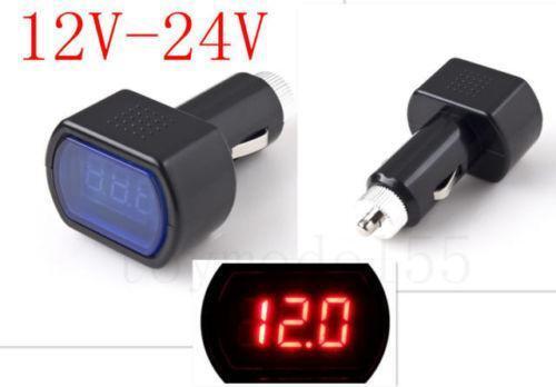 Car Battery Voltage Meter : Car battery voltage meter ebay