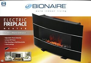 Bionaire Electric Wall mount/Stand Fireplace Brand new