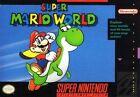 Nintendo SNES Super Mario World Video Games