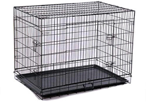 Large Metal Dog Crate (  New never used)