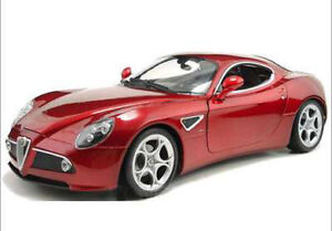 DieCast-model-1-24-Car-Welly-Alfa-8C-Competizione-22490-Die-Cast