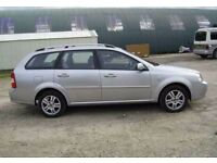 chevrolet lacetti estate breaking for spares . !!!46,000 Engine !!!