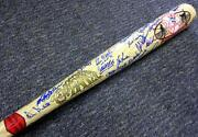 New York Yankees Autographed Bat