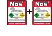 NOS Bottle Sticker