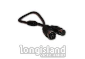 Sega Genesis 32X Model 1 Link Cable Connector Patch Cord – Brand New