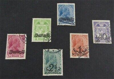 nystamps Liechtenstein Stamp # 11-16 Used $56   L23y600