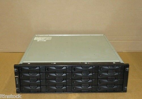 Dell EqualLogic PS5000XV Virtualized iSCSI SAN Storage Array 16 x 300GB 15k