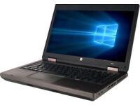 Probook 6470b i5-3210M 3rd Generation 2.5GHz 4GB 320GB DVDRW Quality Laptop/ WINDOWS 10