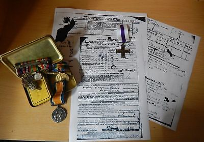 WW1 Medals Research - Military Service Research-NO Medals