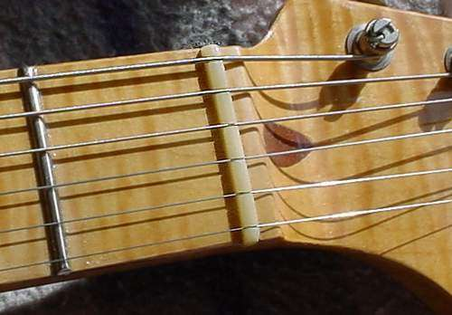 MusicianAtHeart UNBLEACHED BONE NUT for Fender Electric Guitar Strat Tele Jag
