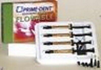 Light Cure Flowable Composite Shade A2 Prime-dent Pk4 004-010a2