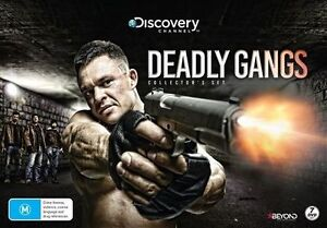 Deadly Gangs (DVD, 2016, 7-Disc Set) - Brand New and FREE POSTAGE