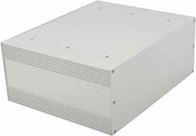Tysun Silver Aluminum Electronic Enclosure Project Box For Electronics 9.84x...