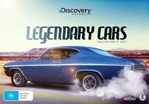Legendary-Cars-DVD-2016-8-Disc-Set-BRAND-NEW-amp-SEALED