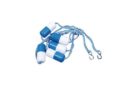 Swimming Pool Safety Rope Line Rope & Float Kit w/ Hook 16