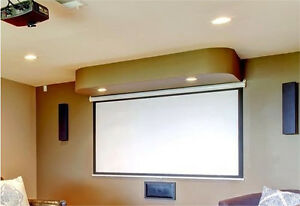 "New 109"" wide home theatre screen"