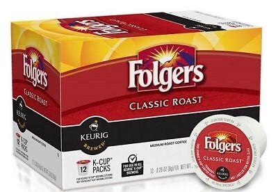 Folgers Classic Roast Coffee Keurig K Cups