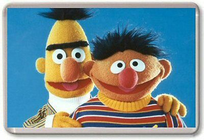 BERT AND ERNIE Fridge Magnet 01