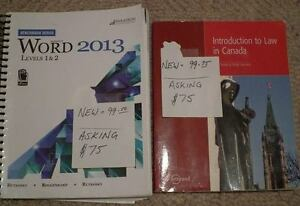 Fanshawe College Law Clerk Textbooks