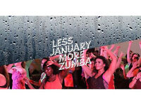 Zumba Classes - January 2017!