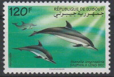 Djibouti 1994 Mi. 598 Faune Fauna Dauphin à long bec Dolphin Delfin RARE MNH