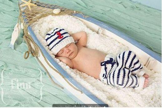 Newborn Baby Girls Boys Crochet Knit Costume Photo Photography Prop Outfits