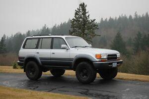 1997 Toyota Land Cruiser SUV, Crossover