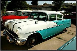 1956 Pontiac Pathfinder Deluxe 4dr Sedan