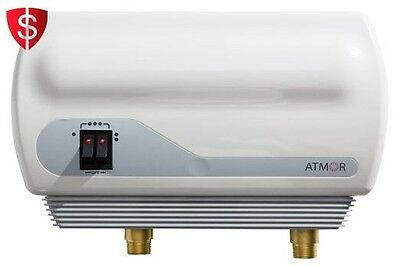 110V Electric Tankless Instant Hot Water Heater On Demand Shower 3kW Atmor