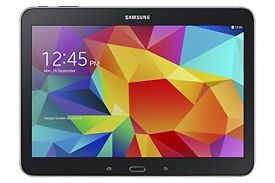 Samsung Galaxy Tab 4 10.1'' WiFi Black Tablet, as good as new; with cover and 64MB MicroSD card