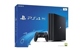 PlayStation 4 Pro Matte Black 1TB *Excellent Condition*