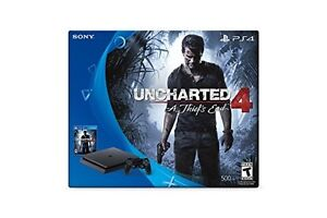 PS4 Slim 500GB Uncharted 4 bundle **NEW Condition** with box